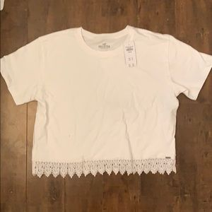 Hollister Shirt with lace